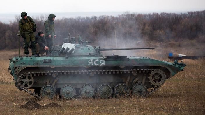 Phe ly khai thu được xe tăng của chính phủ