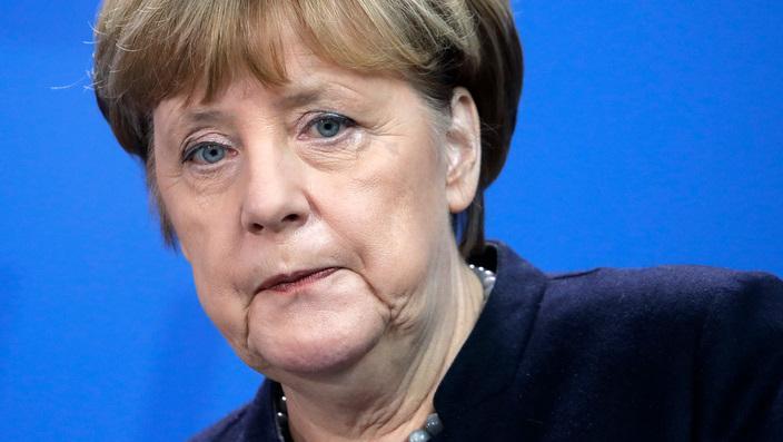 Thủ tướng Đức Angela Merkel tại Berlin