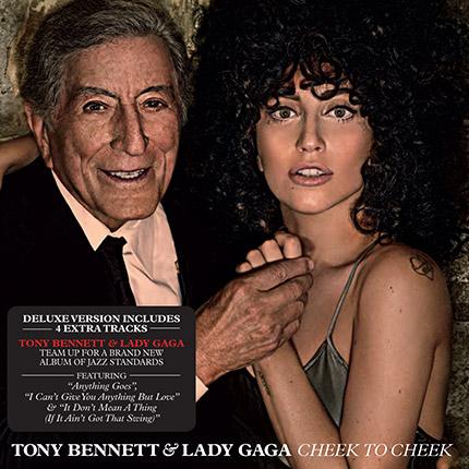 Tony Bennett and Lady Gaga: Cheek to Cheek - Deluxe Album (CD/Digital)