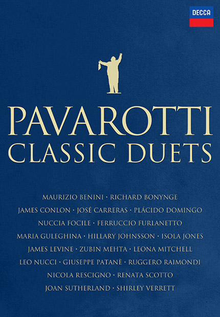 Luciano Pavarotti: Classic Duets - DVD/CD