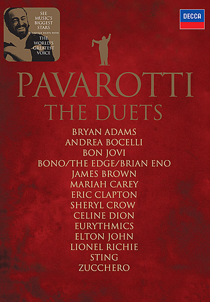 Luciano Pavarotti: The Duets - DVD/CD