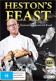 Heston Blumenthal DVDs and Books