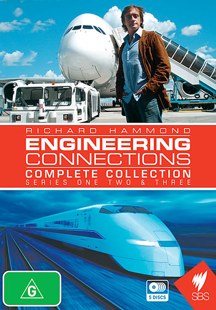 Engineering Connections, Complete Collection: Series 1, 2 & 3 - DVD Box Set
