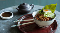KOREAN spicy noodles with egg