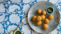 GUJARATI potato dumplings