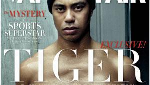 Vanity ... Tiger Woods, as shot by Annie Leibowitz for Vanity Fair. [AP]