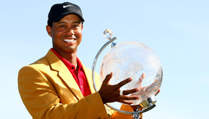 Tiger Woods won the Australian Masters, and the unofficial title of best sports story of 2009 [GETTY]