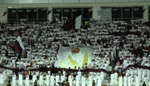 Football fans in Qatar may one day see the World Cup on home soil, but as part of a pan-Gulf bid [C WANG]