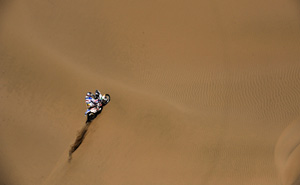 The Dakar dunes impacted on all race competitors (Getty)