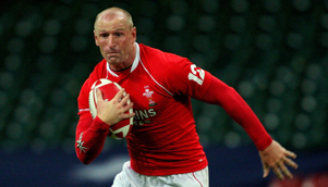 Wales rugby union player Gareth Thomas - one of the toughest men in sport [GETTY]