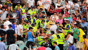 Police ejected 91 people from the MCG on day one of the Boxing Day Test, which was considered