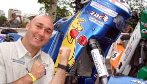 Christophe Barriere-Varju will compete in his fourth Dakar Rally - the most for an Australian competitor [CBV Photo]