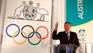 It seems Eddie McGuire, Nine, and Foxtel have left their Winter Olympics expertise in the locker room [GETTY]