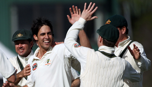 Australia fast bowler Mitchell Johnson has put his Ashes nightmare behind him [GETTY]