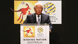 Football Federation Australia Chairman Frank Lowy says the furore over 2018 World Cup bids is all a